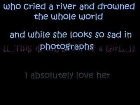 Nine days  Absolutely Story of a girl with lyrics