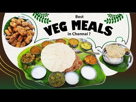 THE SARAVANA BHAVAN EXPERIENCE | Trying out Veg Meals in Chennai | Food Review Vlog