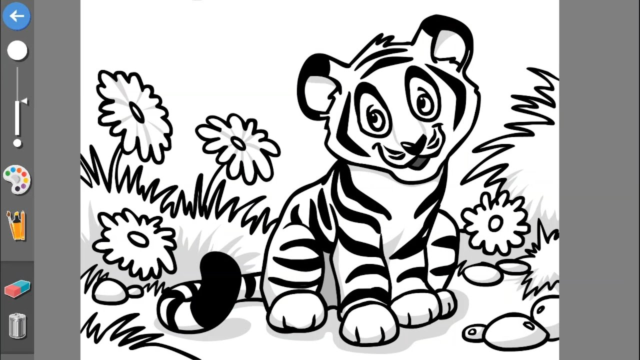 Coloring game:Kids Educational Game 5 - YouTube