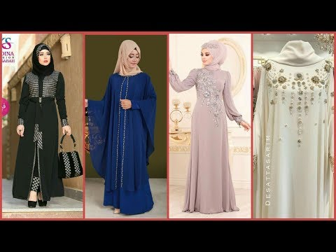 [video] Modern World Stylish Girl Abayas – Modern Dubai Style Abaya Fashion –