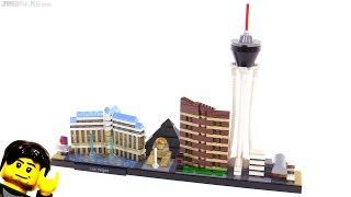LEGO Architecture Las Vegas skyline set review! 21047