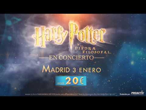 Entradas 20€- Harry Potter in Concert Madrid