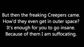 Wrecking Mob + On screen Lyrics  Minecraft Parody of Miley Cyrus