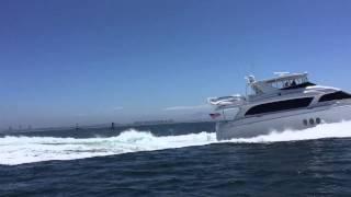 72 Hatteras Motor Yacht Ocean Running
