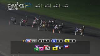 Mohawk, Sbred, Sept. 19, 2016 Race 9
