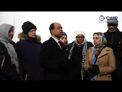 Video: CAIR Director Nihad Awad Speaks to DC, Chapter Staff at Martin Luther King Jr. Memorial
