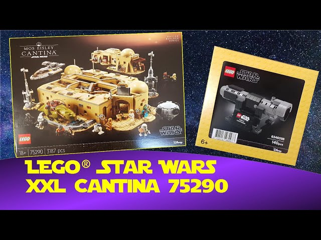 LEGO® Star Wars Mos Eisley Cantina 2020 - Master Builder Series (Unboxing 75290)