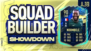 Fifa 21 Squad Builder Showdown!!! TEAM OF THE SEASON NDOMBELE!!!