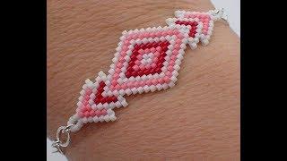 Brick Stitch Diamond Bracelet - Must Know Monday 1/15/18