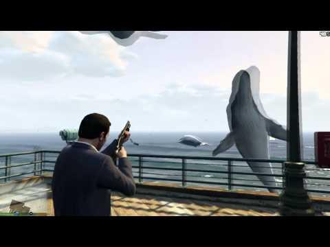 GTA V - Whale Gun Mod