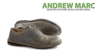 Andrew Marc Dorchester Saddle Oxford Shoes - Leather (For Men)