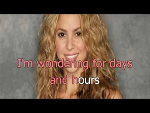 Shakira -  Illegal - karaoke letra
