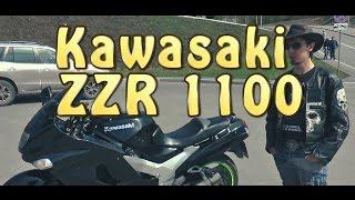 #Докатились! Kawasaki ZZR1100. 'Спасибо, что живой'