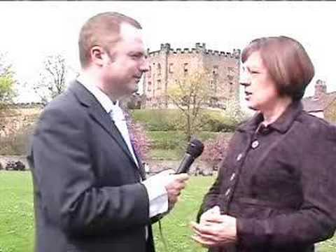 Carol Woods interview - County Durham local elections May 08