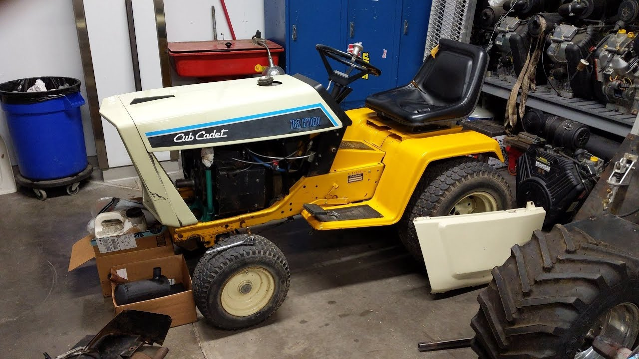 New Year, Old Grind - 1984 Cub Cadet 782 Onan Repower Project