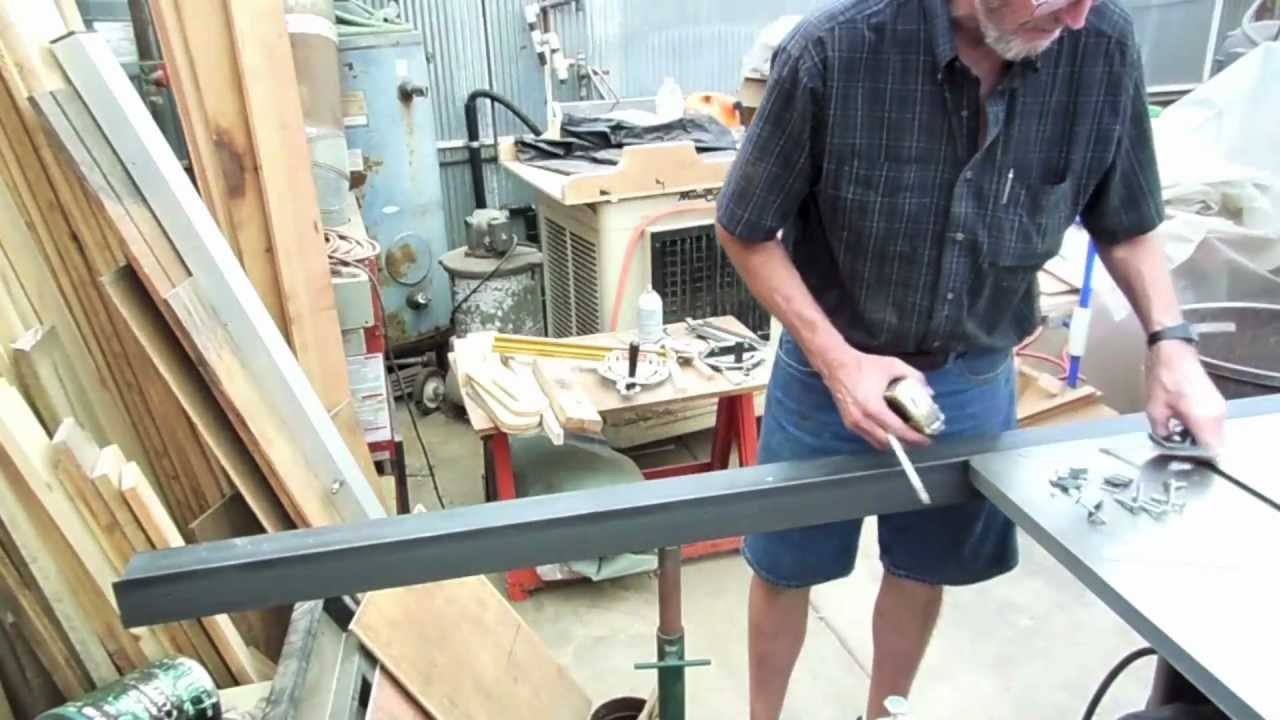4 of 5 how to make a biesemeyer style guide rail system for your 4 of 5 how to make a biesemeyer style guide rail system for your table saw fence assembling youtube greentooth Gallery