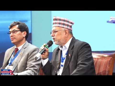 Plenary Session 1: Investment Opportunities in Nepal (Nepal Investment Summit 2017)