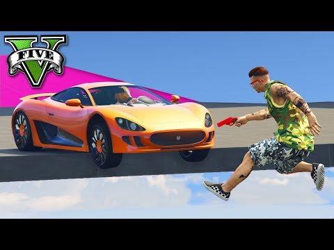 GTA V Online: PARKOUR Vs NOVO OCELOT XA-21 - JOGANDO MUITO!!