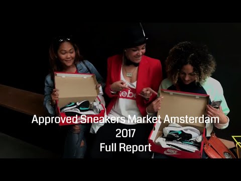 Approved Sneakers Market 2017 Full Report // From Blog to Vlog #6