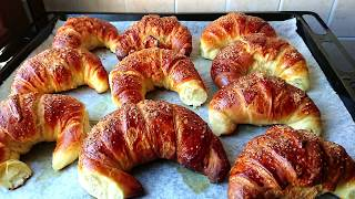 Croissants. A simple recipe.