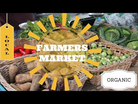 The Edinburgh Farmers' Market!