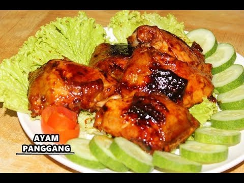 Resep dan Cara Mudah Membuat Ayam Panggang Mudah, Enak dan Empuk ala Zasanah - YouTube