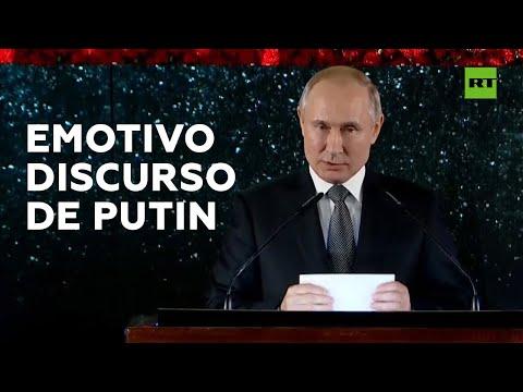 Putin se emociona