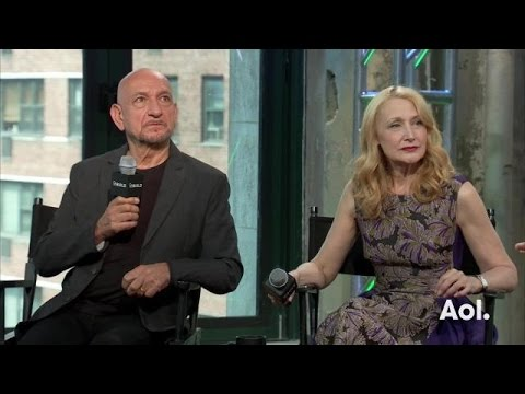 """Sir Ben Kingsley and Patricia Clarkson Discuss """"Learning To Drive"""""""
