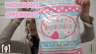 Opening A Silly Squishies Package At Midnight!