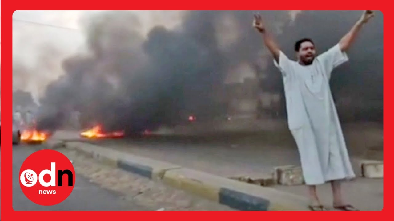 Sudan coup: Military dissolves civilian government and arrests leaders