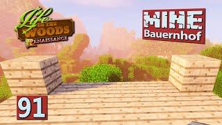 MINE Bauernhof | Grundsteinlegung SCHON in Folge 91! ► #91 MINECRAFT Life in The Woods deutsch