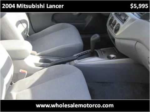 2004 Mitsubishi Lancer available from Wholesale Motor Co Inc