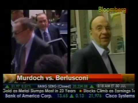 Murdoch Vs. Berlusconi - Bloomberg