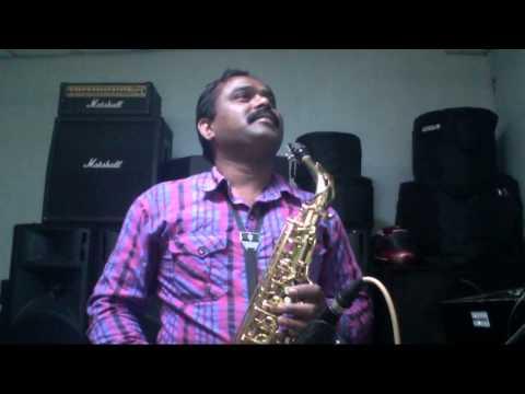 CHANDNI - lagi aaj sawan saxophone cover cover by abhijit 09492571935