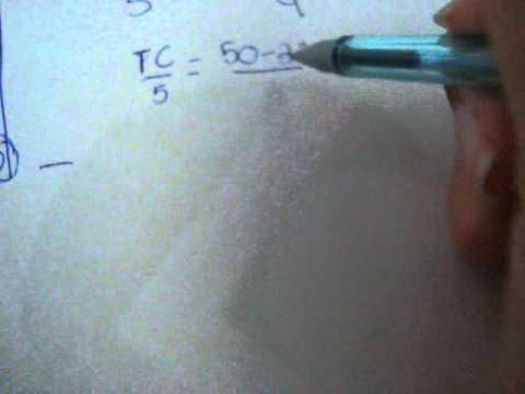 Aprendendo rápido como converter Fahrenheit para Celsius