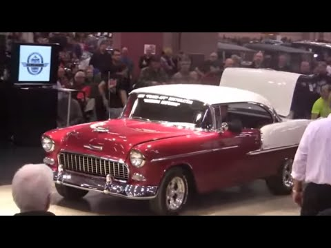 Belair Auto Auction >> Auction Of 1955 Chevy Belair From Gpk Auctions