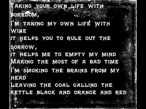 Alkaline Trio-Radio Lyrics