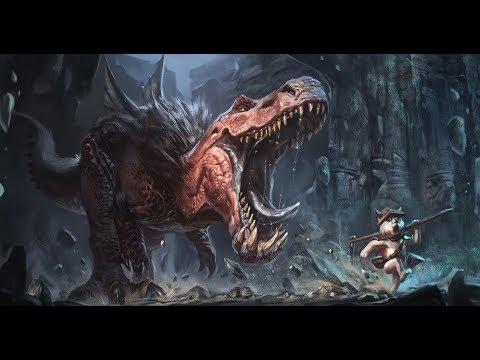 Lets Paint Anjanath Monster Hunter World