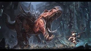 Lets Paint: Anjanath, Monster Hunter world
