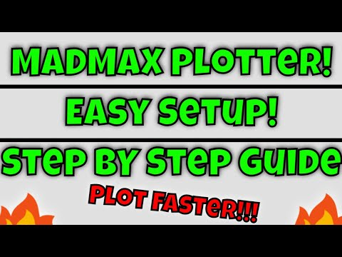 How To Setup MadMax Chia Plotter On The New Pooling Protocol! Tutorial Chia Farming, Chia Update!