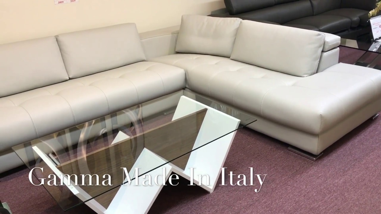 Chinatown Furniture Sectional Sofa Herman By Gamma