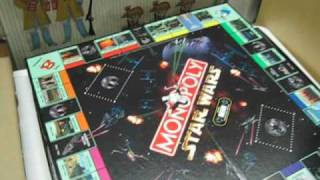 Star Wars Monopoly Limited Collector