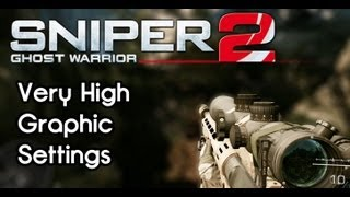 Sniper Ghost Warrior 2 - Maximum Graphic Settings - Radeon HD 7950