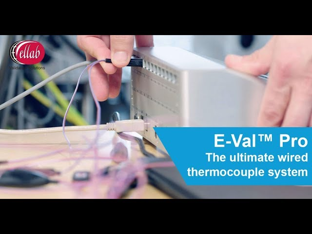 E-Val™ Pro Wired Thermocouple System