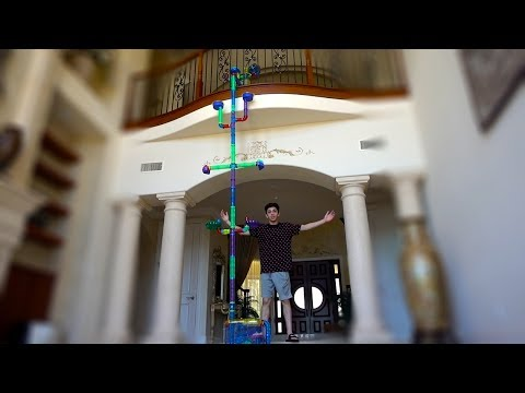 BUILDING MY HAMSTER HIS DREAM CAGE: PART 4 (TWO STORIES HIGH) | FaZe Rug