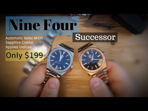 Best Affordable Automatic Watch Under $200? Nine Four Successor NH35 For Only $199!!! - 94 Watches