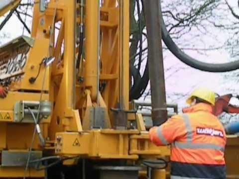 PRAKLA RB50 Universal Rotary Drilling Rig