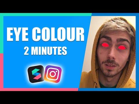 Two Minute Eye Colour Change Filter Effect (Easy) | Instagram & Facebook | Spark AR Tutorial thumbnail