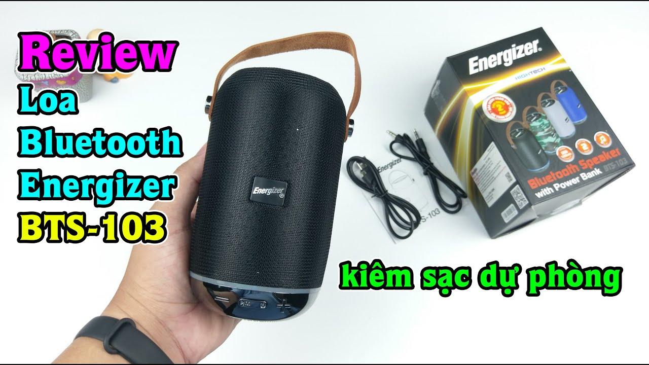 Trên tay Loa Bluetooth Energizer BTS-103, HÀNG HIỆU giá khó tin - YouTube