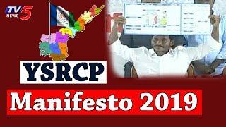 Ys jagan mohan reddy announce ysrcp 2019 elections manifesto